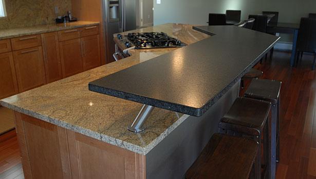 Piece Sink And Laminite Kitchen Countertop Austin